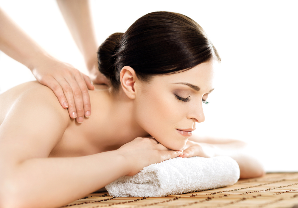Relieve stress with a massage