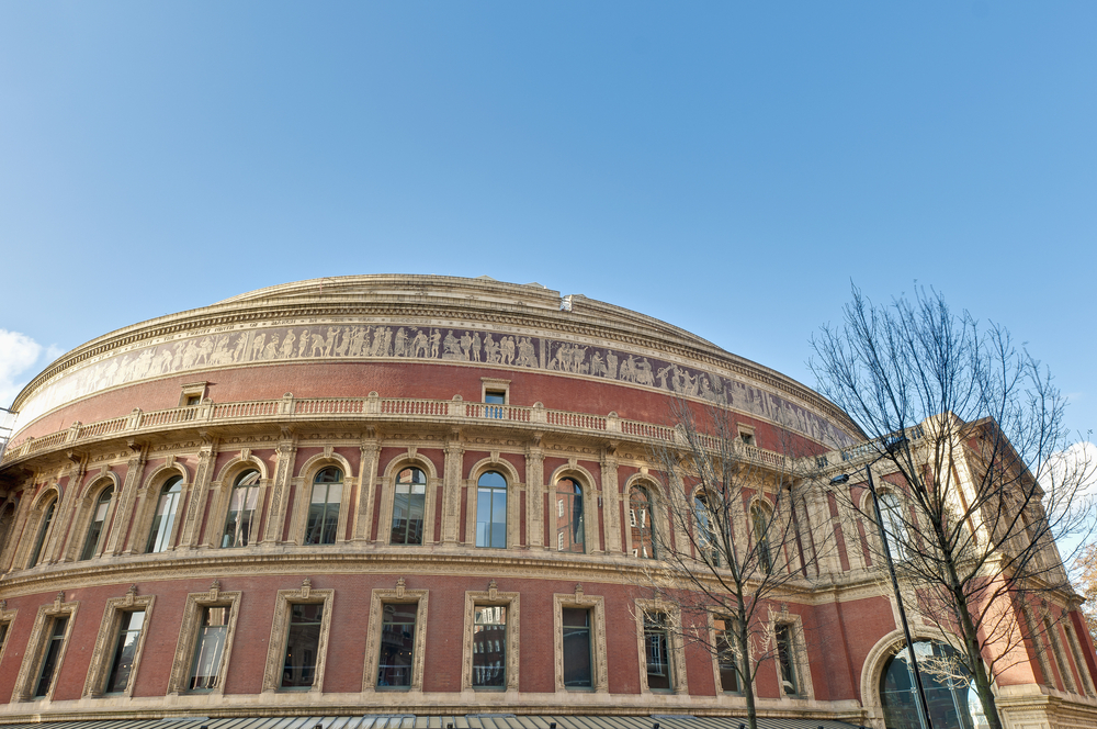 Royal Albert Hall building at London
