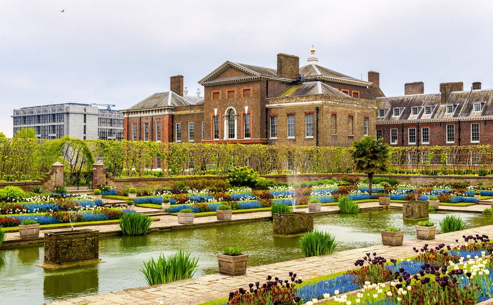 Kensington Palace in London