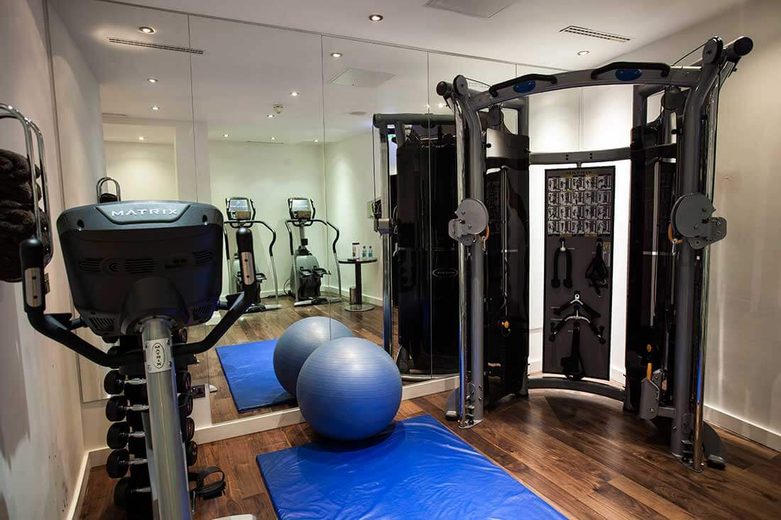 the Montcalm marble Arch fitness centre