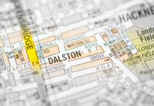 dalston-map-london