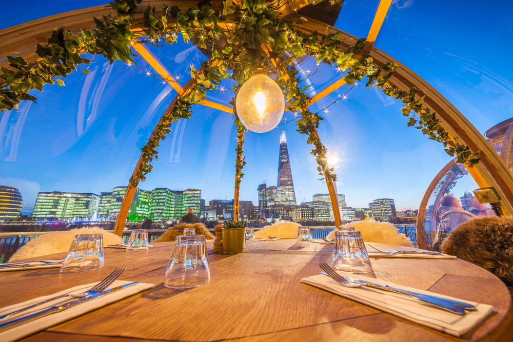 Warm Up In These Winter Igloos In London