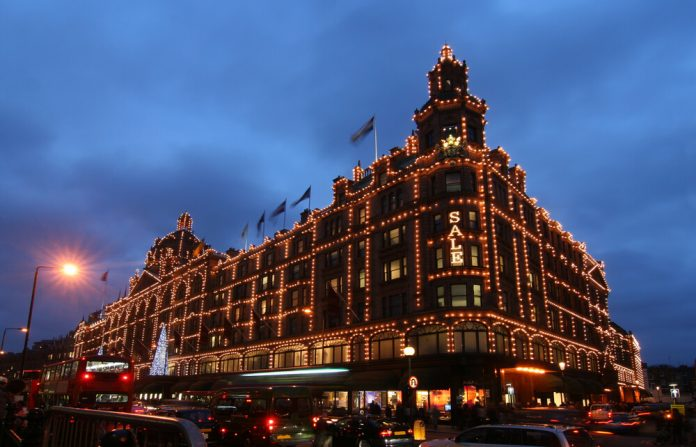Harrods Department Stores London