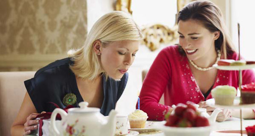 Afternoon Tea for two for £54.00